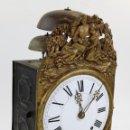 Relojes de pie: RELOJ MOREZ DE 4 CAMPANAS SIN PÉNDULO NI PESAS. SIGLO XIX, EN BUEN ESTADO GENERAL.. Lote 160142586