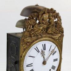 Relógios de pé: RELOJ MOREZ DE 4 CAMPANAS SIN PÉNDULO NI PESAS. SIGLO XIX, EN BUEN ESTADO GENERAL.. Lote 160142586