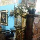 Relojes de pie: MAGNIFICO RELOJ DE PIE TEMPUS FUGIT BELL. LACADO. EN MARCHA. SONERÍA.. Lote 160854738