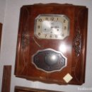 Relojes de pie: RELOJ DE PARED ART DECO. Lote 160888370