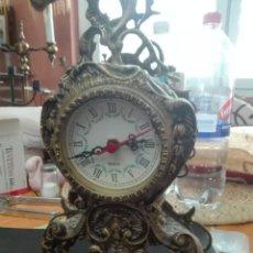 Relojes de pie: RELOJ EN BRONCE MARCA QUARTZ PESO 2,70 KG. Lote 160967530