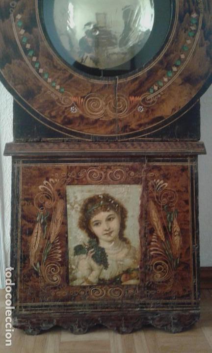 Relojes de pie: Reloj de pie del siglo XVIII - Foto 3 - 165965966