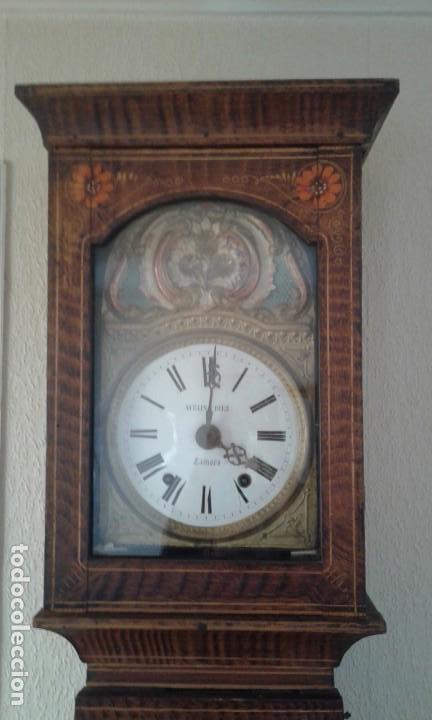 Relojes de pie: Reloj de pie del siglo XVIII - Foto 6 - 165965966