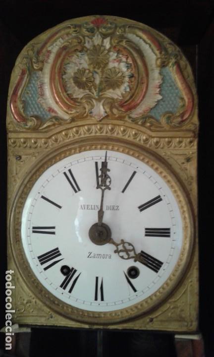 Relojes de pie: Reloj de pie del siglo XVIII - Foto 7 - 165965966