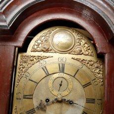 Relojes de pie: MAGNÍFICO RELOJ TIPO INGLÉS CON CAJA ORIENTAL, SIGLO XIX. 256 CM ALTURA TOTAL, VER FOTOS.. Lote 165969810