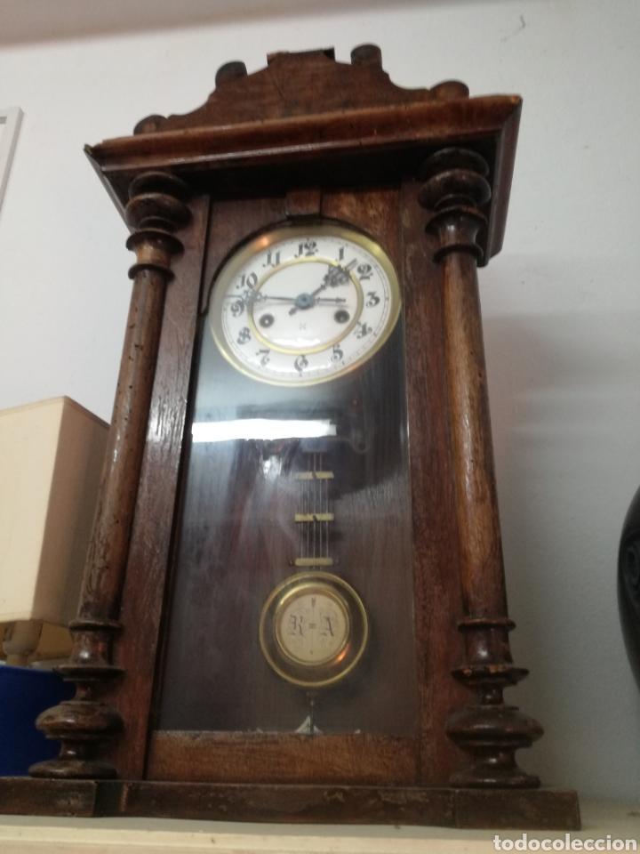 RELOJ RA S.XIX FUNCIONANDO (Relojes - Pie Carga Manual)
