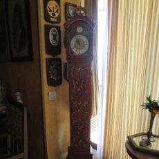 Relojes de pie: RELOJ DE PIE CARGA MANUAL - TEMPUS FUGITE - CAJA MADERA - TIENE LA LLAVE - 183X21X15. Lote 172242872