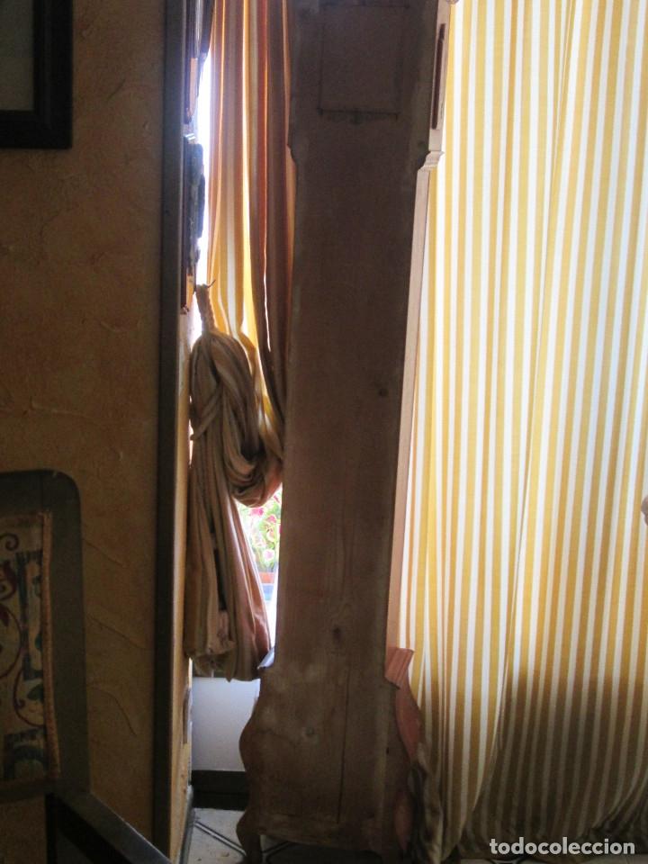 Relojes de pie: RELOJ DE PIE CARGA MANUAL - TEMPUS FUGITE - CAJA MADERA - TIENE LA LLAVE - 183X21X15 - Foto 9 - 172242872