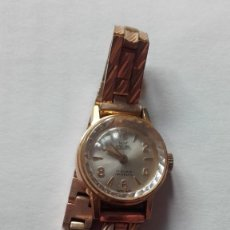 Relojes de pie: RELOJ OSCAR 17 RUBIS INCABLOC MADE IN SWISS FOND ACIER INOXIDABLE. Lote 172526832
