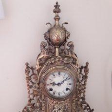 Relojes de pie: RELOJ BRONCE ANTIGUO. Lote 172948450