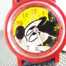 Relojes de pie: LORUS SEIKO REVALORIZABLE MICKEY MOUSE FIN STOK 48 EUROS EN TIENDA LOTE WATCHE. Lote 173559792