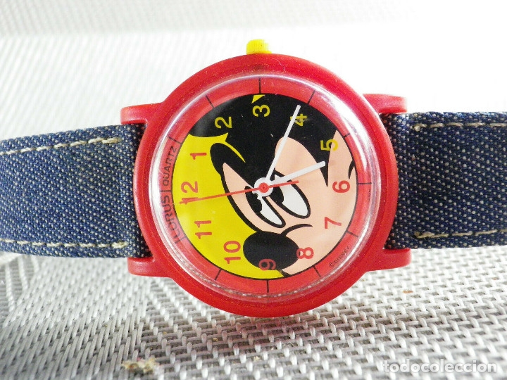 Relojes de pie: LORUS SEIKO REVALORIZABLE Mickey Mouse FIN STOK 48 EUROS EN TIENDA LOTE WATCHE - Foto 3 - 173559792