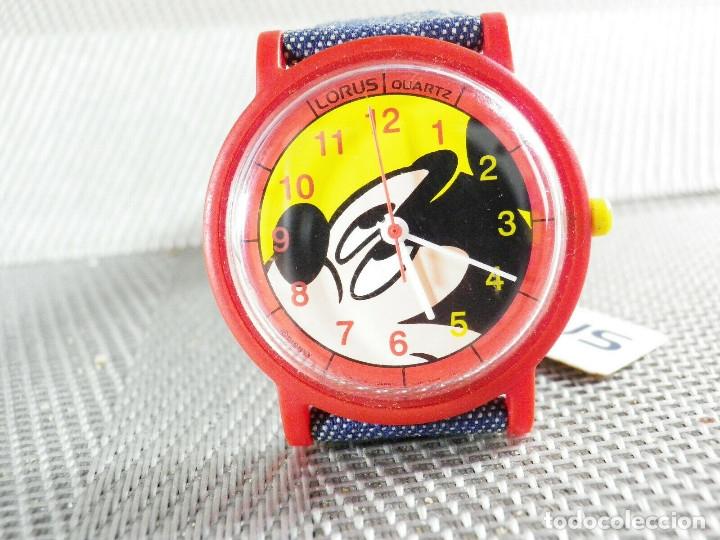 Relojes de pie: LORUS SEIKO REVALORIZABLE Mickey Mouse FIN STOK 48 EUROS EN TIENDA LOTE WATCHE - Foto 5 - 173559792