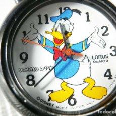 Relógios de pé: LORUS SEIKO REVALORIZABLE PATO DONALD FIN STOK 4700 PESETAS EN TIENDA LOT WATCHE. Lote 173604934