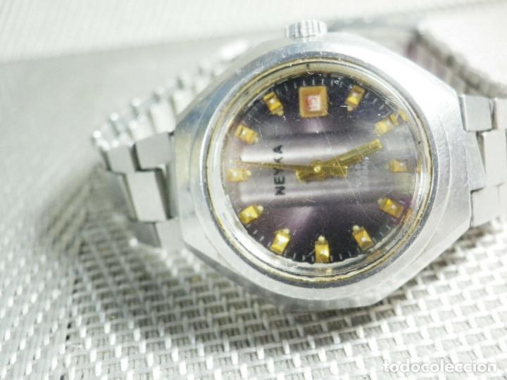 GRAN RELOJ AUTOMATICO DE DAMA AÑOS 60 ALTISIMA CALIDAD ACERO INOX LOTE WATCHES (Relojes - Pie Carga Manual)