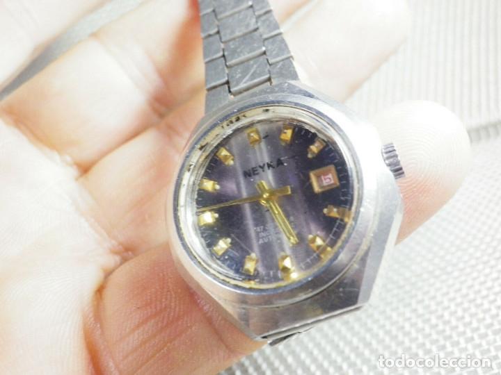 Relojes de pie: GRAN RELOJ AUTOMATICO DE DAMA AÑOS 60 ALTISIMA CALIDAD ACERO INOX LOTE WATCHES - Foto 2 - 173605953