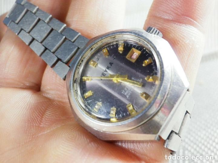Relojes de pie: GRAN RELOJ AUTOMATICO DE DAMA AÑOS 60 ALTISIMA CALIDAD ACERO INOX LOTE WATCHES - Foto 3 - 173605953
