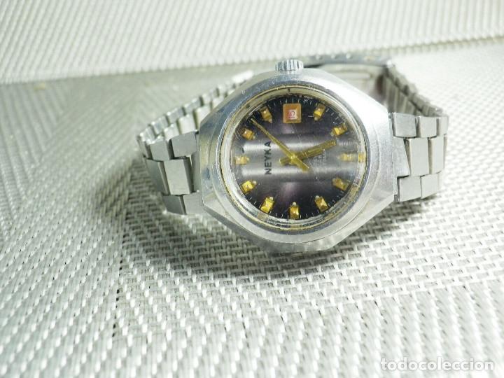Relojes de pie: GRAN RELOJ AUTOMATICO DE DAMA AÑOS 60 ALTISIMA CALIDAD ACERO INOX LOTE WATCHES - Foto 5 - 173605953