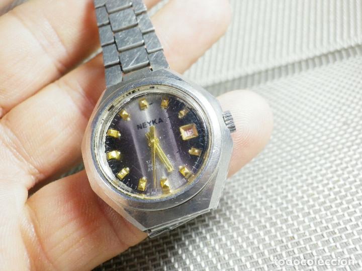 Relojes de pie: GRAN RELOJ AUTOMATICO DE DAMA AÑOS 60 ALTISIMA CALIDAD ACERO INOX LOTE WATCHES - Foto 9 - 173605953