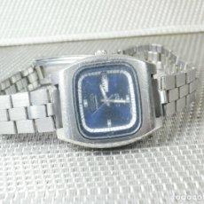 Relojes de pie: GRAN OCASION INCREIBLE SEIKO AUTOMATICO ACERO INOX. GRAN MAQUINA FUNCIONA PERFEC. Lote 173625550