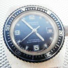 Relojes de pie: ULTIMO AÑO 1960 CADETE MILITAR ANTIGUO STOK SPENDID SUIZO FUNCIONA LOTE WATCHES. Lote 173629464