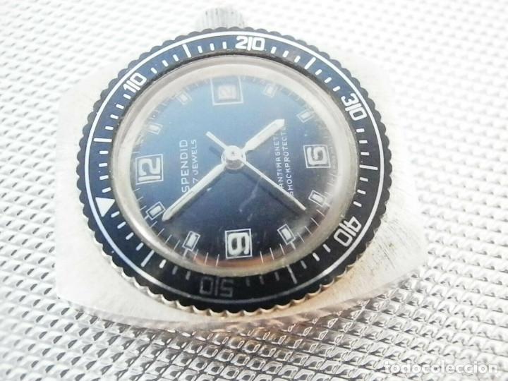 Relojes de pie: ULTIMO AÑO 1960 CADETE MILITAR ANTIGUO STOK SPENDID SUIZO FUNCIONA LOTE WATCHES - Foto 4 - 173629464
