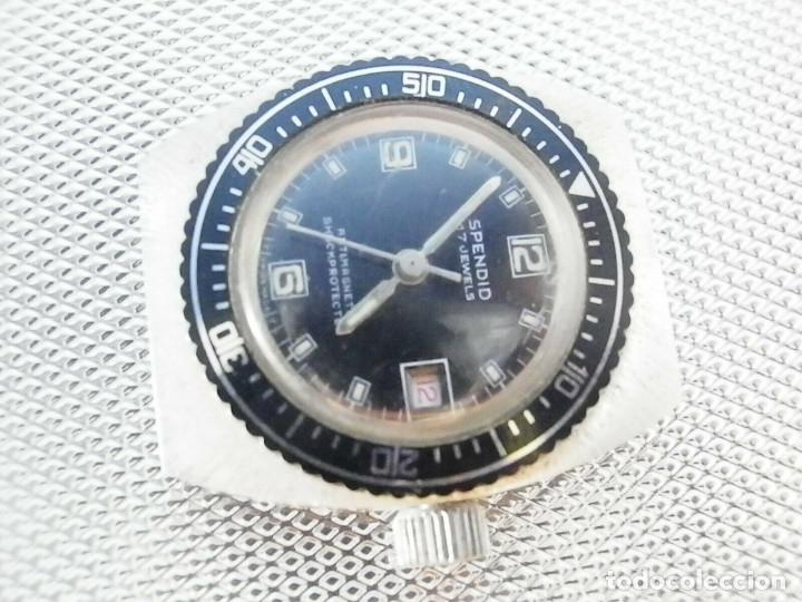 Relojes de pie: ULTIMO AÑO 1960 CADETE MILITAR ANTIGUO STOK SPENDID SUIZO FUNCIONA LOTE WATCHES - Foto 5 - 173629464