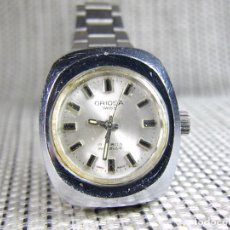 Relojes de pie: AUTENTICO ORIGINAL ORIOSA AÑOS 60 Nº DE SERIE MECANICO ACERO INOX. LOTE WATCHES. Lote 173634545