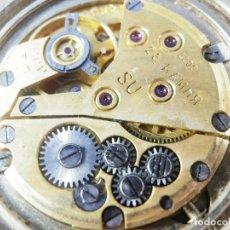 Relojes de pie: ANTIGUO Y BELLO SEKONDA MECANICO 23 RUBIS NO FUNCIONA CHAPADO ORO LOTE WATCHES. Lote 173637118