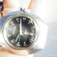 Relojes de pie: GRAN DUWUARD AUTOMATICO 23 RUBIS ACERO INOXIDABLE FUNCIONA PERFECTO LOTE WATCHES. Lote 173639115
