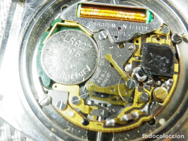 Relojes de pie: GRAN CITIZEN DE ALTA GAMA AÑOS 80 GRAN MAQUINA ACERO INOX FUNCIONA LOTE WATCHES - Foto 6 - 173676877