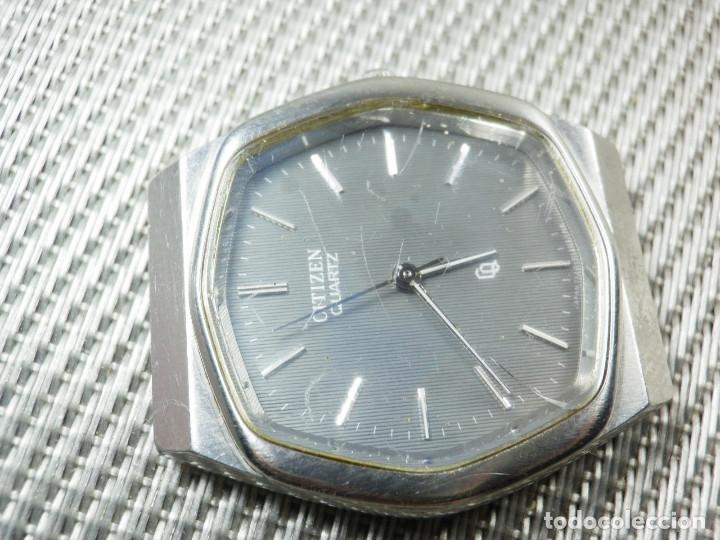 Relojes de pie: GRAN CITIZEN DE ALTA GAMA AÑOS 80 GRAN MAQUINA ACERO INOX FUNCIONA LOTE WATCHES - Foto 10 - 173676877