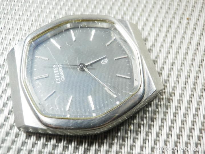 Relojes de pie: GRAN CITIZEN DE ALTA GAMA AÑOS 80 GRAN MAQUINA ACERO INOX FUNCIONA LOTE WATCHES - Foto 11 - 173676877