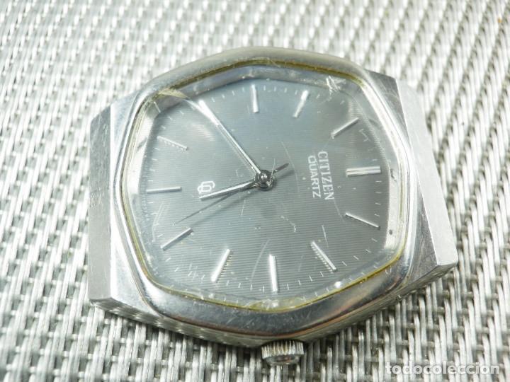 Relojes de pie: GRAN CITIZEN DE ALTA GAMA AÑOS 80 GRAN MAQUINA ACERO INOX FUNCIONA LOTE WATCHES - Foto 12 - 173676877