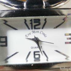 Relojes de pie: PRECIOSO EVE MON CROIS DE DAMA AÑOS 90 ANTIGUO STOK FUNCIONA LOTE WATCHES MONTRE. Lote 173679308