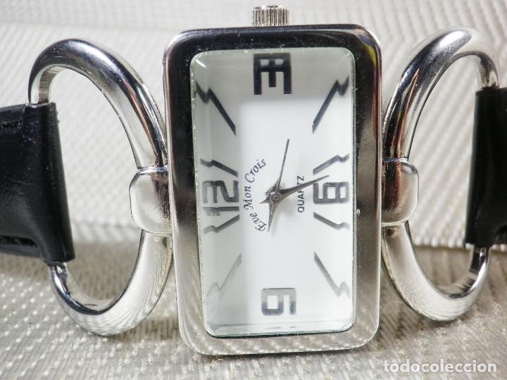 Relojes de pie: PRECIOSO EVE MON CROIS DE DAMA AÑOS 90 ANTIGUO STOK FUNCIONA LOTE WATCHES MONTRE - Foto 2 - 173679308