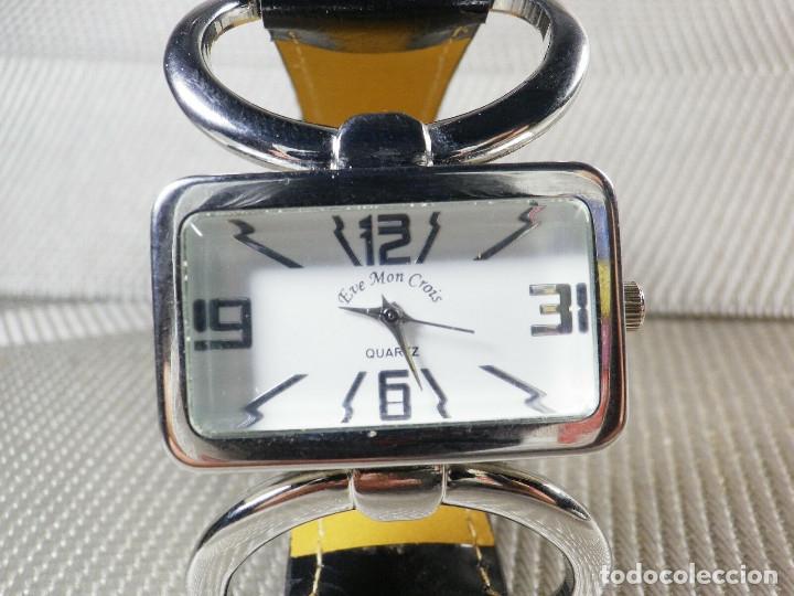 Relojes de pie: PRECIOSO EVE MON CROIS DE DAMA AÑOS 90 ANTIGUO STOK FUNCIONA LOTE WATCHES MONTRE - Foto 4 - 173679308