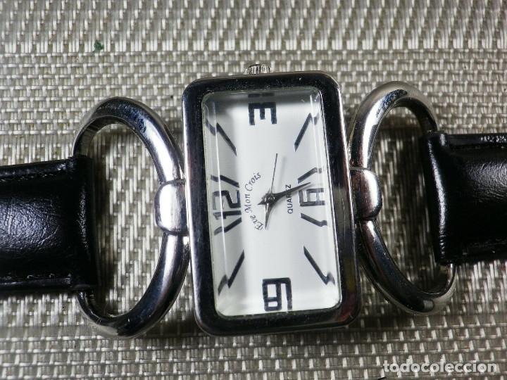 Relojes de pie: PRECIOSO EVE MON CROIS DE DAMA AÑOS 90 ANTIGUO STOK FUNCIONA LOTE WATCHES MONTRE - Foto 5 - 173679308