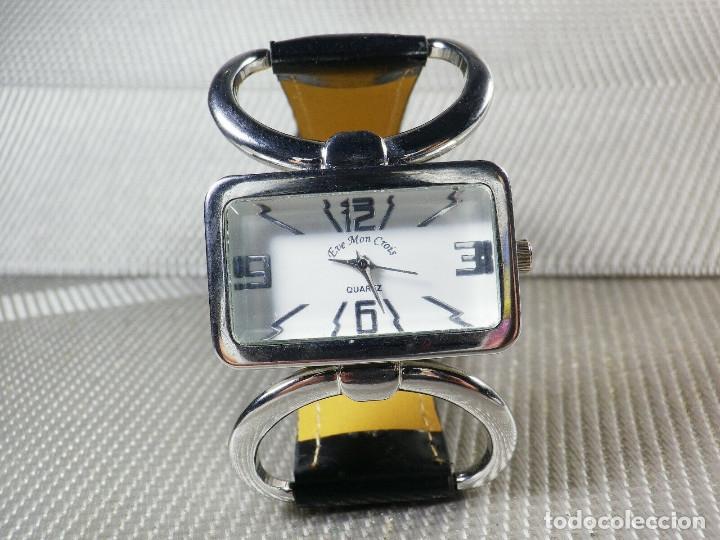 Relojes de pie: PRECIOSO EVE MON CROIS DE DAMA AÑOS 90 ANTIGUO STOK FUNCIONA LOTE WATCHES MONTRE - Foto 6 - 173679308