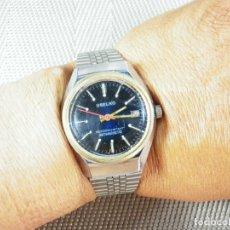 Relojes de pie: ANTIGUO BONITO USELKO SUIZO MECANICO DE CABALLERO AÑO 1970 FUNCIONA LOTE WATCHES. Lote 173808438