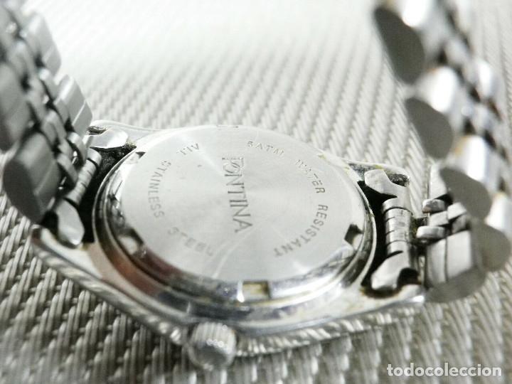 Relojes de pie: GRAN OCASION ORIGINAL PONTIMA ACERO INOX SIN USO SUMERGIBLE 30M LOTE WATCHES - Foto 3 - 173810684