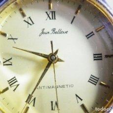 Relojes de pie: ANTIGUO Y BONITO RELOJ MECANICO AÑO 1970 GEAR BELLVE MODELO MILITAR LOTE WATCHES. Lote 173812269