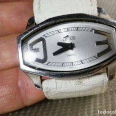 Relojes de pie: GRAN LOTUS DAMA ALTISIMA CALIDAD ACERO INOX WR30M INCREIBLE ESTADO LOTE WATCHES. Lote 173821589