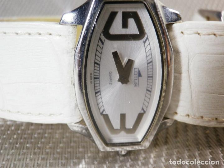 Relojes de pie: GRAN LOTUS DAMA ALTISIMA CALIDAD ACERO INOX WR30M INCREIBLE ESTADO LOTE WATCHES - Foto 2 - 173821589