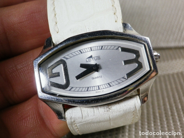 Relojes de pie: GRAN LOTUS DAMA ALTISIMA CALIDAD ACERO INOX WR30M INCREIBLE ESTADO LOTE WATCHES - Foto 3 - 173821589