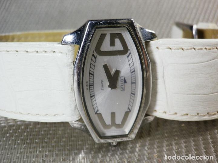 Relojes de pie: GRAN LOTUS DAMA ALTISIMA CALIDAD ACERO INOX WR30M INCREIBLE ESTADO LOTE WATCHES - Foto 4 - 173821589