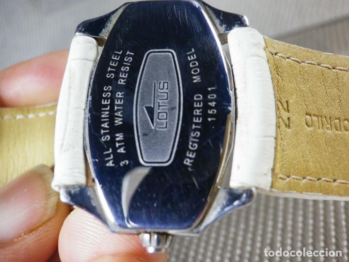 Relojes de pie: GRAN LOTUS DAMA ALTISIMA CALIDAD ACERO INOX WR30M INCREIBLE ESTADO LOTE WATCHES - Foto 5 - 173821589