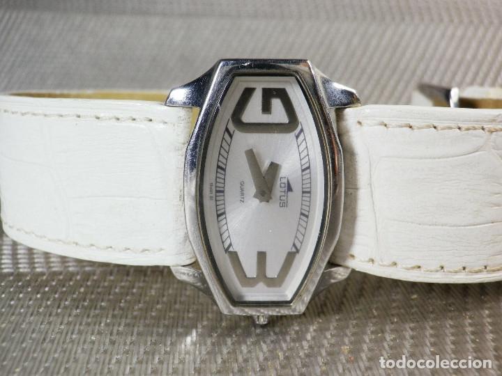 Relojes de pie: GRAN LOTUS DAMA ALTISIMA CALIDAD ACERO INOX WR30M INCREIBLE ESTADO LOTE WATCHES - Foto 6 - 173821589