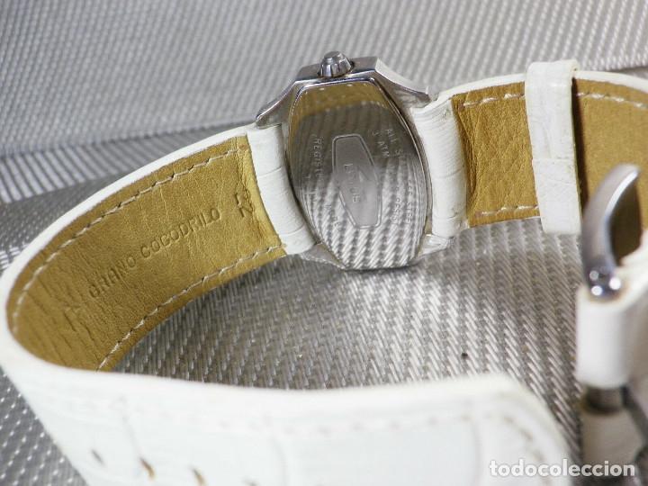 Relojes de pie: GRAN LOTUS DAMA ALTISIMA CALIDAD ACERO INOX WR30M INCREIBLE ESTADO LOTE WATCHES - Foto 7 - 173821589