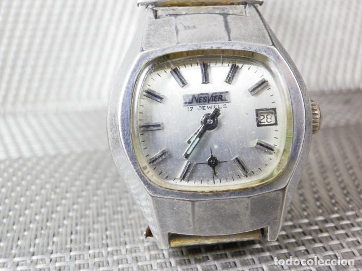 Relojes de pie: ORIGINAL NESVER SUIZO FINALES AÑOS 50 BUEN ESTADO FUNCIONA LOTE WATCHES MONTRE - Foto 3 - 173821710